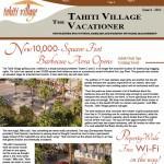 Tahiti Village Newsletter