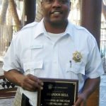 Lead security officer Brandon Bell