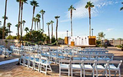 Tahiti Village Courtyard Outdoor Event Space