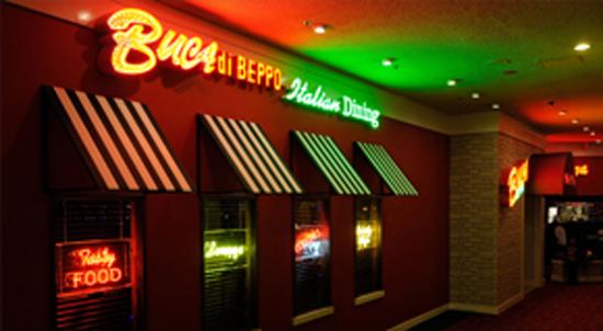 Buca Di Beppo Excalibur Las Vegas