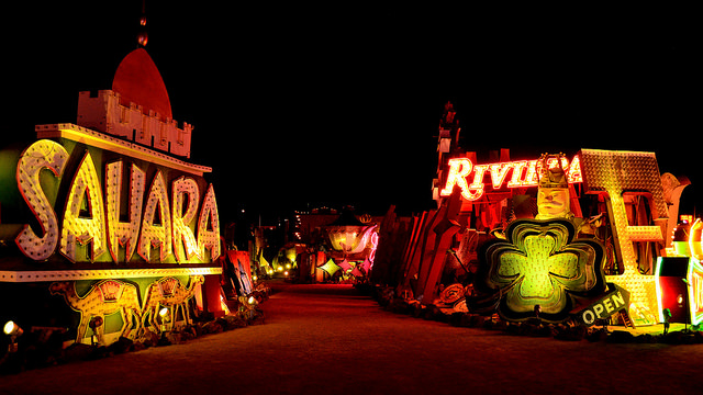 family-activity-neon-museum-downtown-vegas