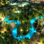 Lazy River at night