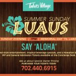Summer Sunday Luau