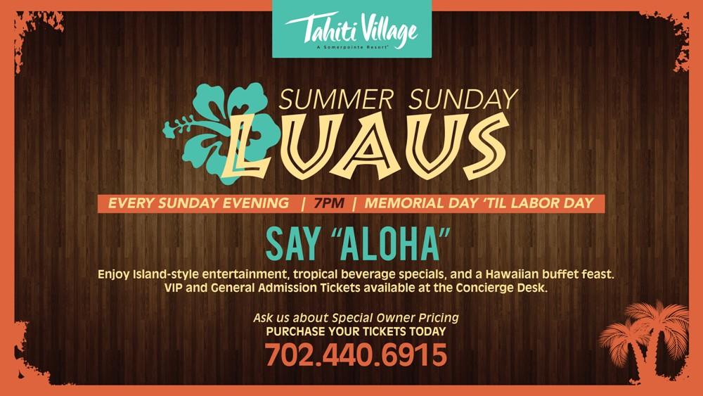 Summer Sunday Luau