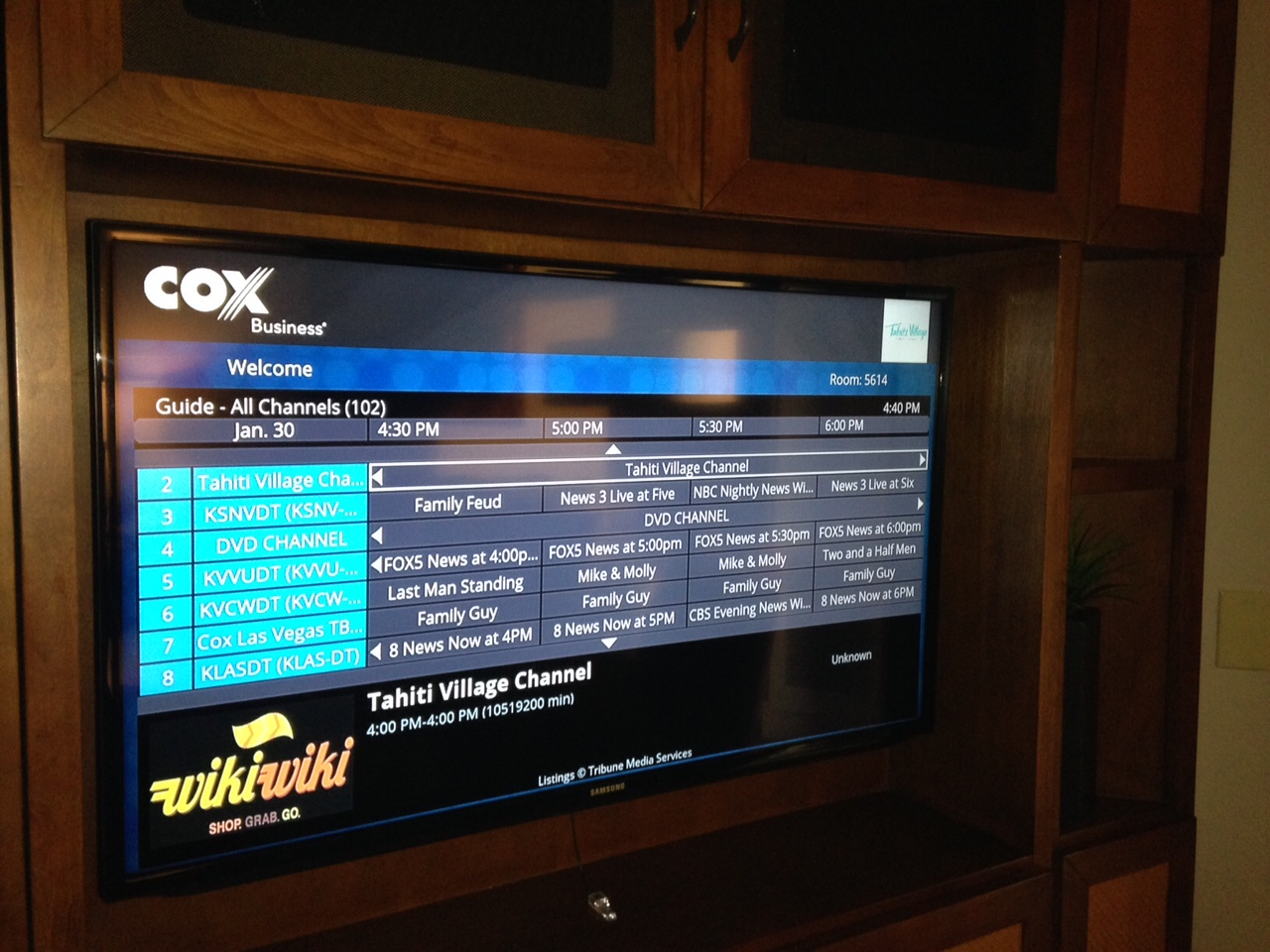 New in room tv package gives you more choices than ever for Rooms to go tv package 2015