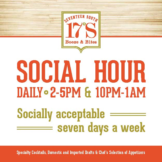 Two Social Hours in one day will make you twice as happy!