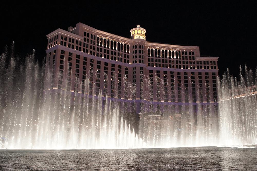 Bellagio fountains Las Vegas, NV