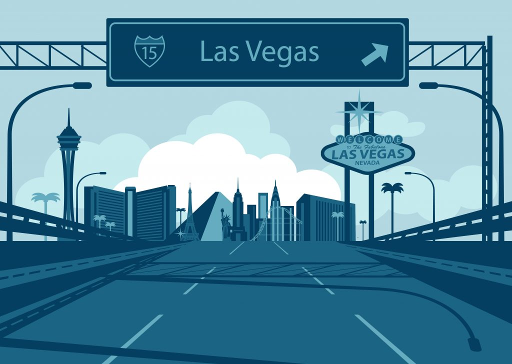 Las Vegas exit.