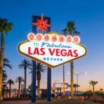 Welcome to Fabulous Las Vegas sign as you enter Las Vegas.