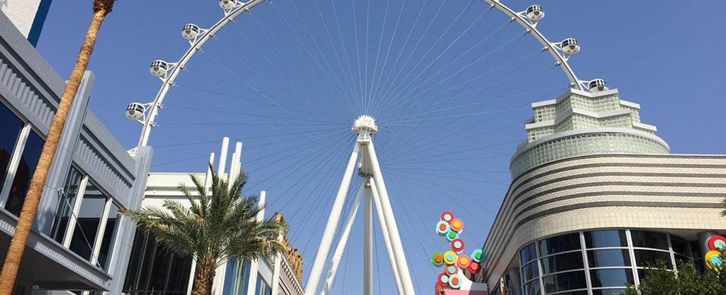 High Roller on the Las Vegas Strip.