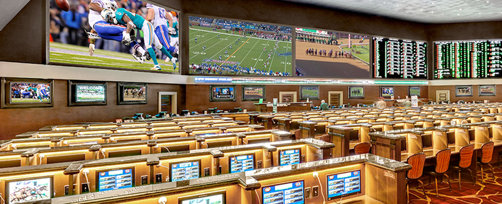 Sports book located at Green Valley Ranch.