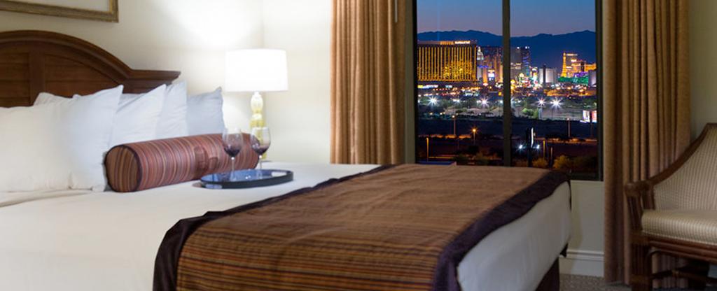 Suite room available at Tahiti Village in Las Vegas.