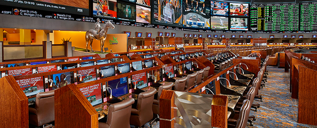 Sports book located at Westgate.