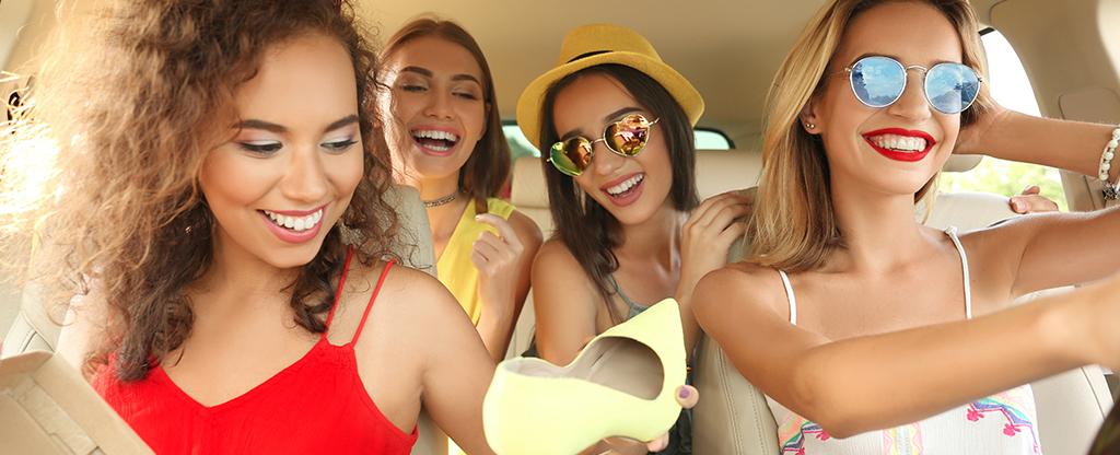 Group of women enjoying a girls day out.