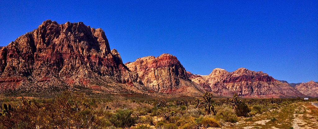 Red Rock Canyon in Las Vegas.
