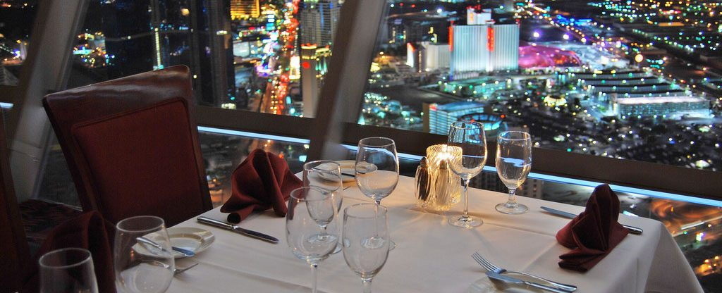 Top of the World restaurant at the Stratosphere in Las Vegas.