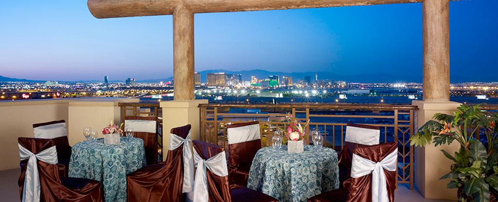 Sky View dining at Tahiti Village in Las Vegas.