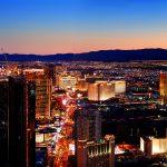 The Las Vegas Strip skyline at night