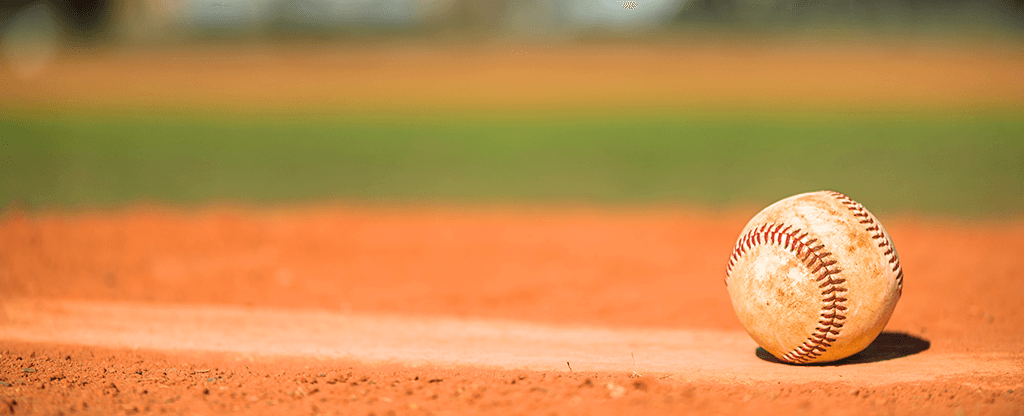 Baseball on Pitchers Mound for Las Vegas 51s Game