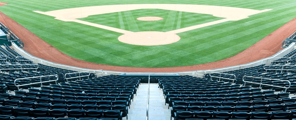 Steps Leading Down to Las Vegas Baseball Stadium