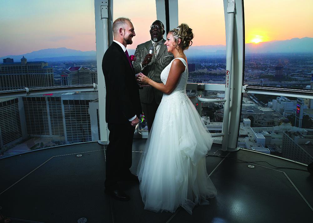 High Roller Wedding Vegas