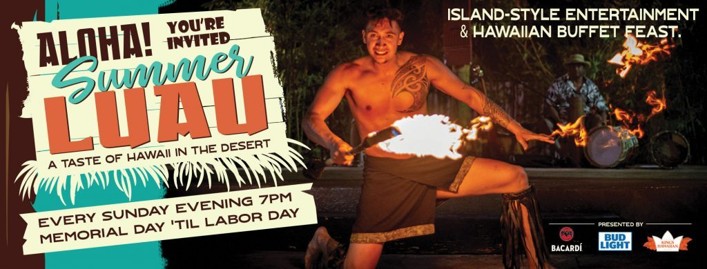 Tahiti Village Summer Sunday Luau Las Vegas