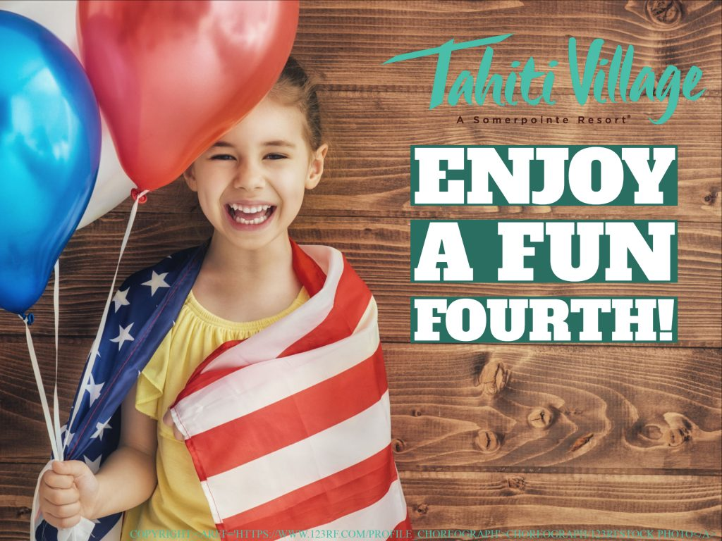 Las Vegas Fourth of July fireworks and activities Tahiti Village
