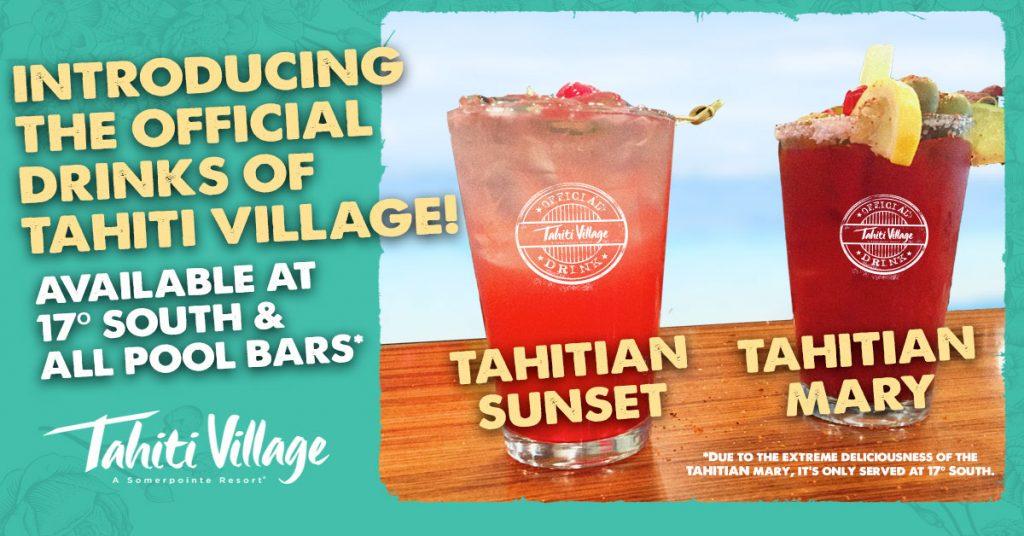 Tahiti Village Resort Las Vegas official drinks