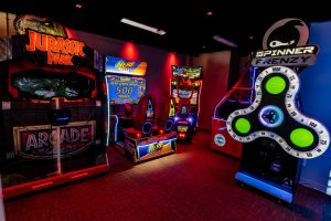 Las Vegas fun and games Tiki Cove arcade Las Vegas