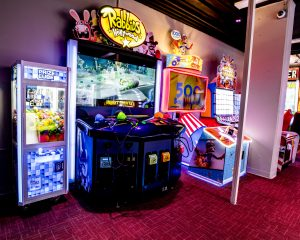 Las Vegas fun and games Tiki Cove arcade Tahiti Village