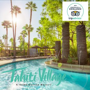 Tahiti Village Resort Las Vegas TripAdvisor Certificate of Excellence