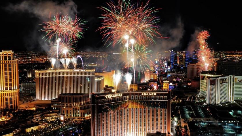New Year's Eve Las Vegas Tahiti Village Resort