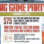 Big Game watch party Tahiti Village Las Vegas 17 South Booze & Bites