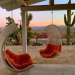 staycation hanging loungers